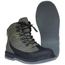 Brodící boty s filcovou podrážkou mají dobrou přilnavost na dně