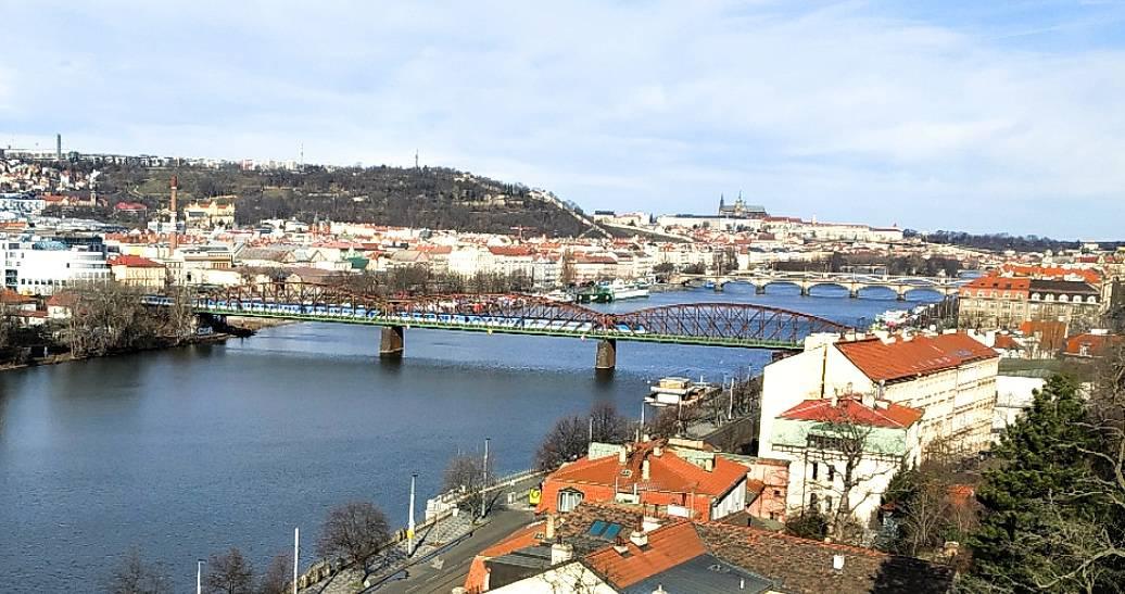 Míst kam na dravce v Praze je strašně moc včetně Berounky