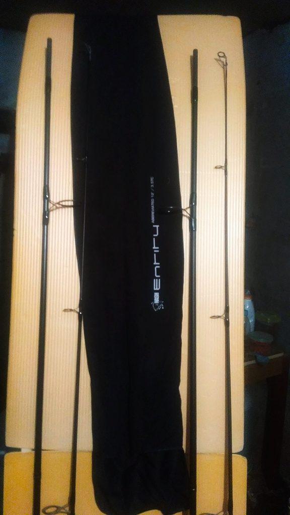 vybalené kaprové pruty