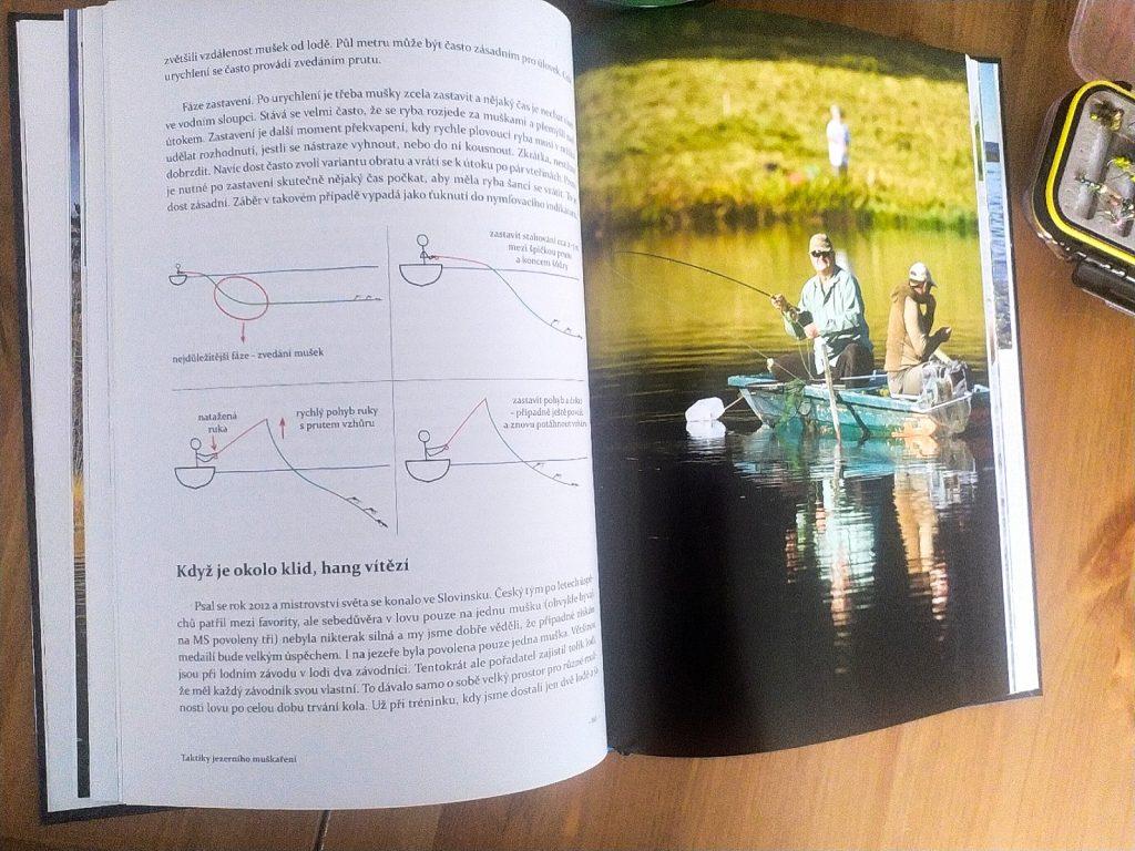 Kniha o muškaření Flyfishing World od Luboše Rozy