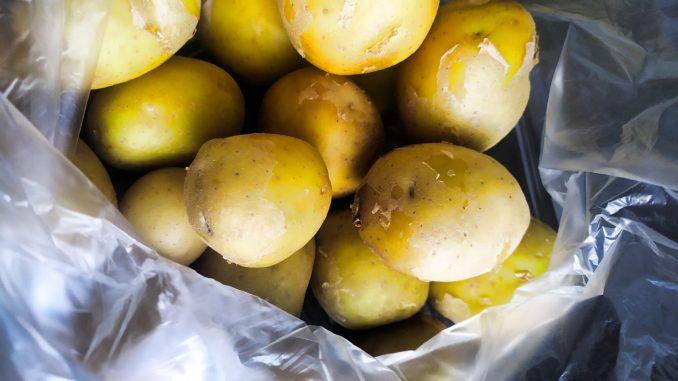 jak uvařit brambory na ryby